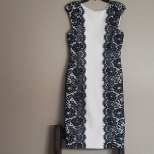White House Black Market Lace Dress size 2